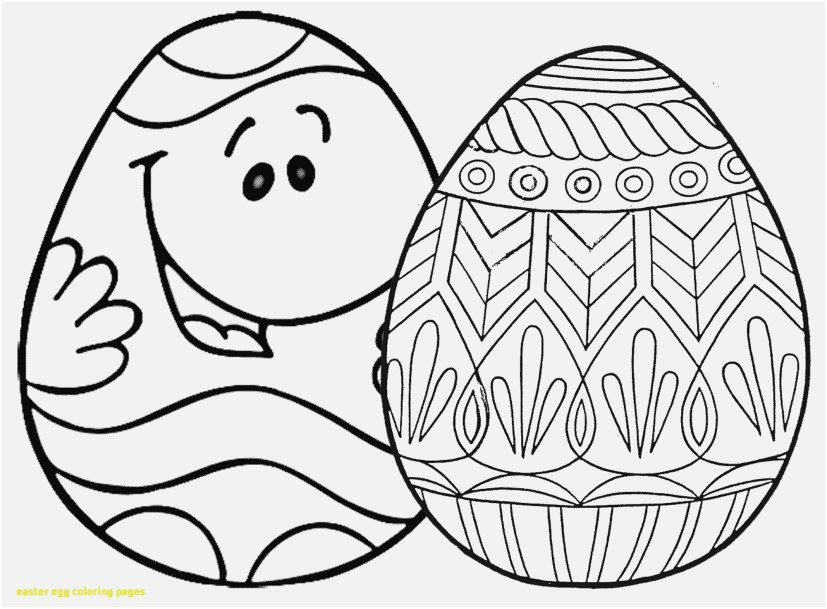 827x609 The Best Photographs Coloring Pages For Easter Eggs Beautiful