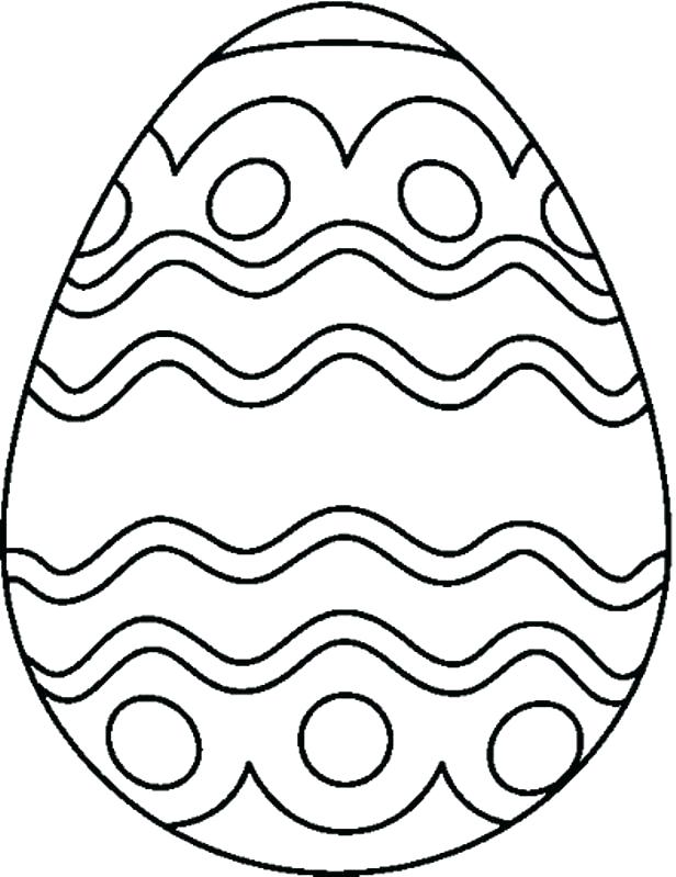 graphic about Printable Easter Egg Coloring Pages identified as Printable Easter Egg Coloring Internet pages at