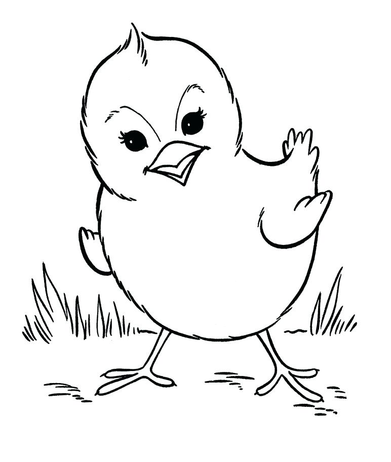 Printable Farm Animals Coloring Pages