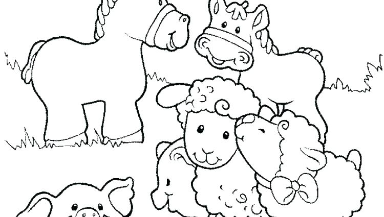 750x425 Farm Animal Coloring Pages Farm Animal Coloring Pages Animals
