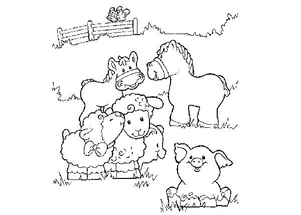 600x429 Free Printable Coloring Pages Farm Animals Free Printable Coloring