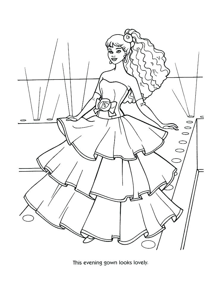 736x981 Coloring Pages Barbie Printable Barbie Coloring Pages Barbie