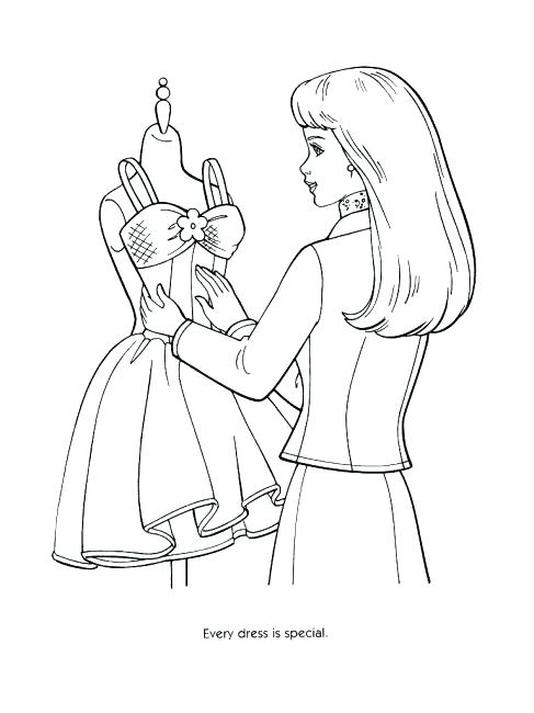 487x650 Fashion Coloring Pages To Print Fashion Designer Coloring Pages