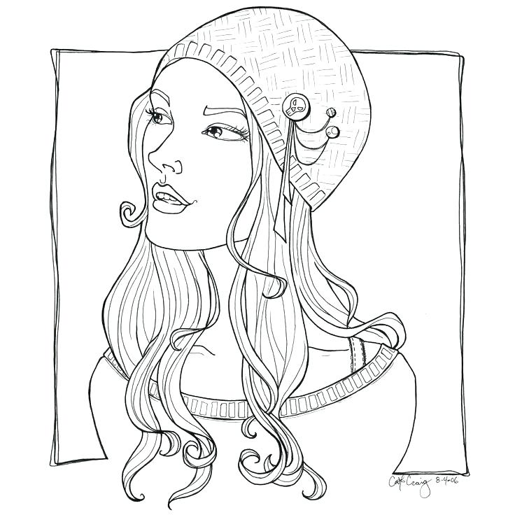 736x736 Fashion Coloring Pages To Print Fashion Girl Coloring Pages Free