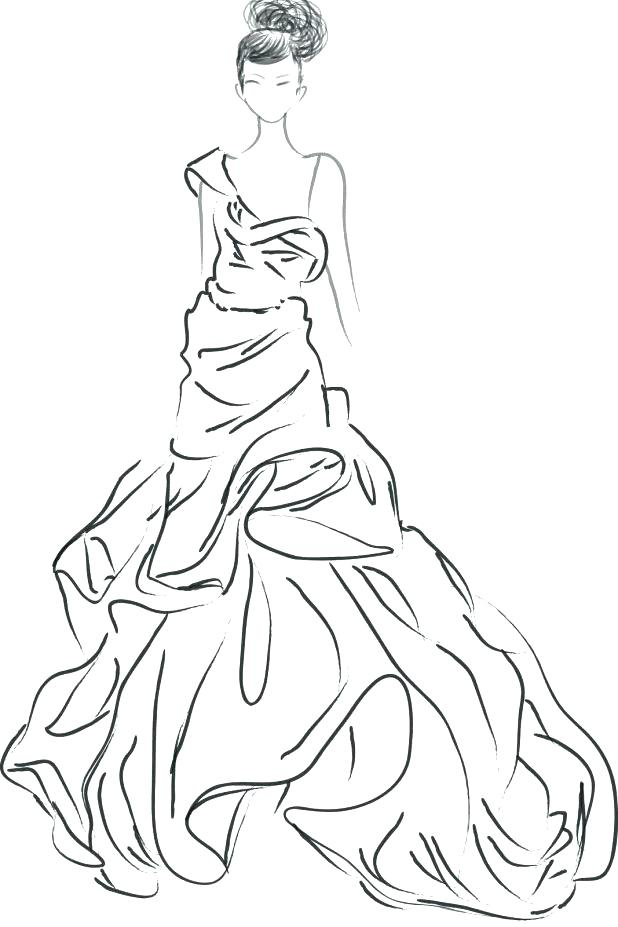 618x927 Barbie Coloring Pages Coloring Pages Fashion Fashion Coloring