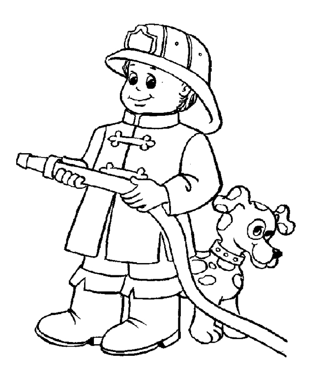 643x762 Firefighter Colouring Pages Kids Firefighters Coloring Pages
