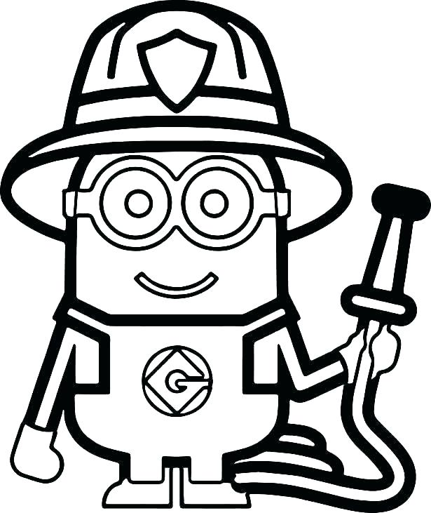 615x731 Fireman Sam Coloring Pages En Fireman Coloring Pages For Kids