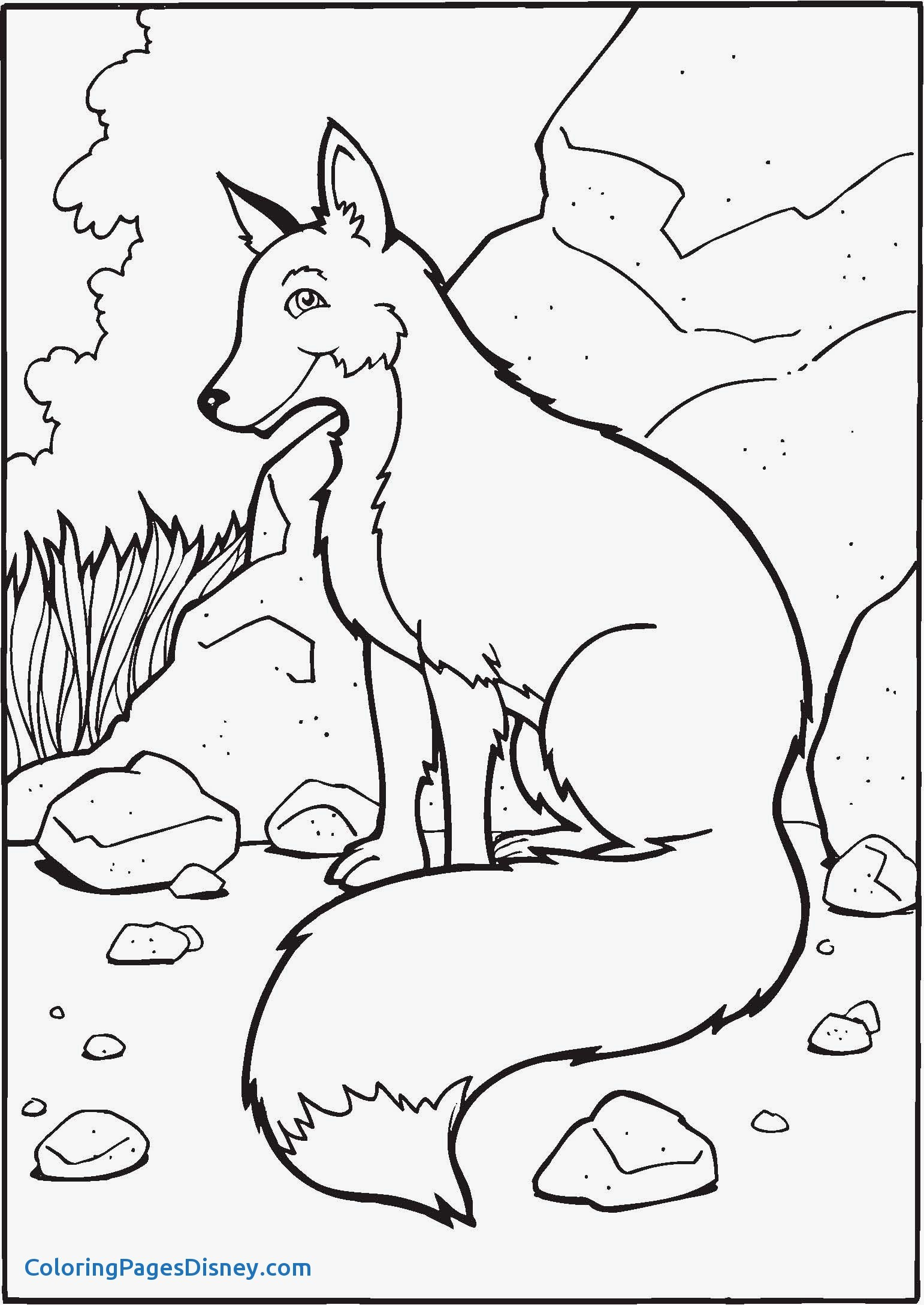 1542x2178 Fox Coloring Pages Fresh Free Printable Fox Coloring Pages