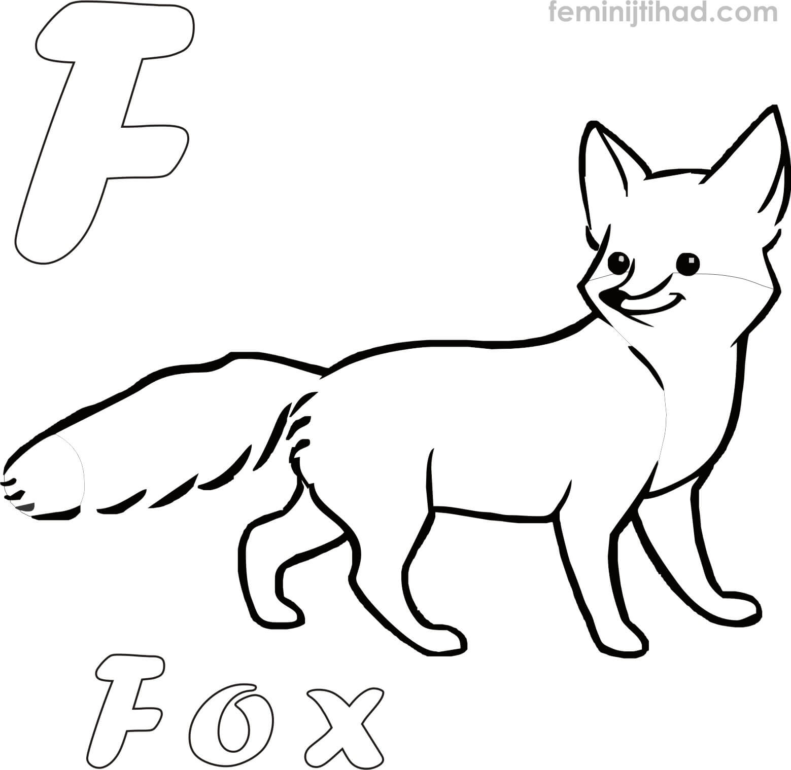1559x1519 Printable Fox Coloring Pages Download Coloring Pages For Kids