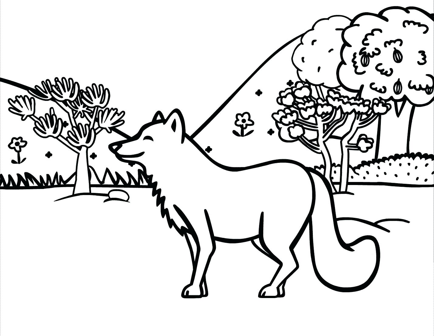 1429x1106 Desert Fox Coloring Pages For Kids Adults Christmas Printable