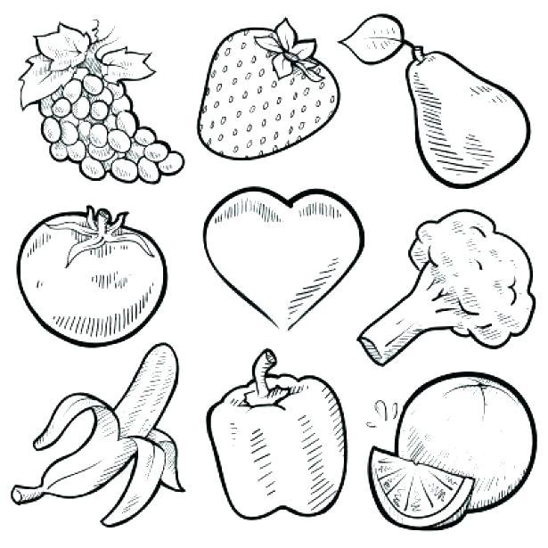 615x615 Fruit Coloring Page Fruit Coloring Page Fruit Coloring Book