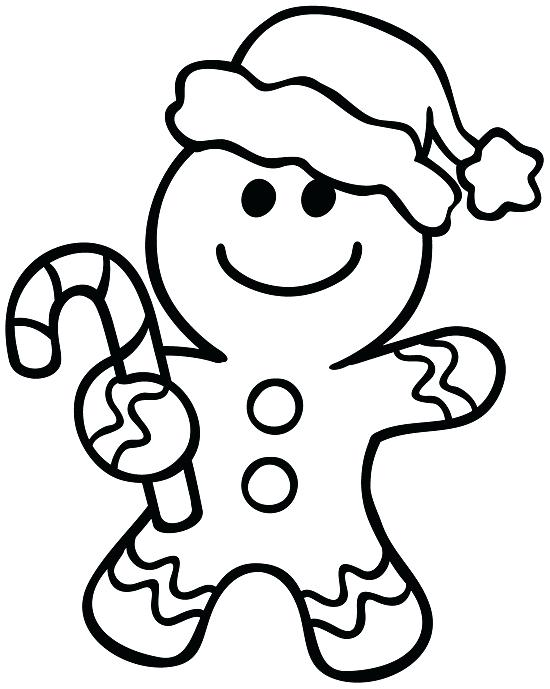 550x689 Gingerbread House Coloring Page