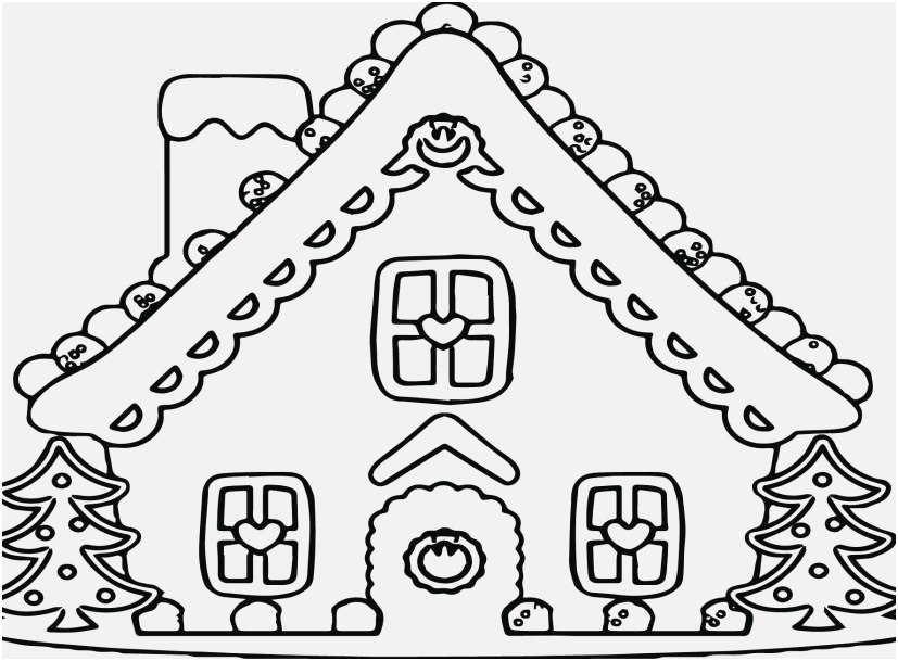 827x609 Gingerbread Coloring Pages View Gingerbread House Coloring Page