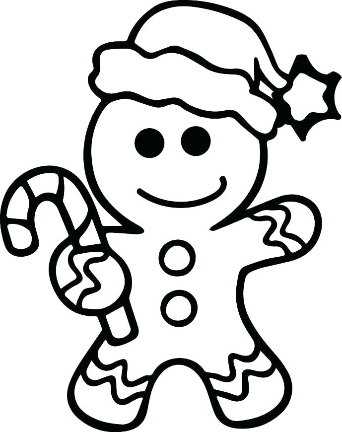689x870 Gingerbread Man Coloring Pages Printable Gingerbread Man Coloring