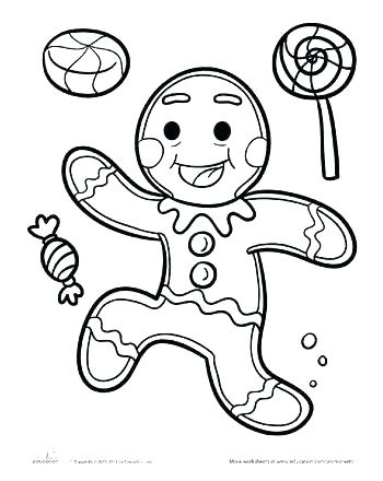 350x440 Gingerbread Man Colouring Printable Gingerbread Man Free Printable