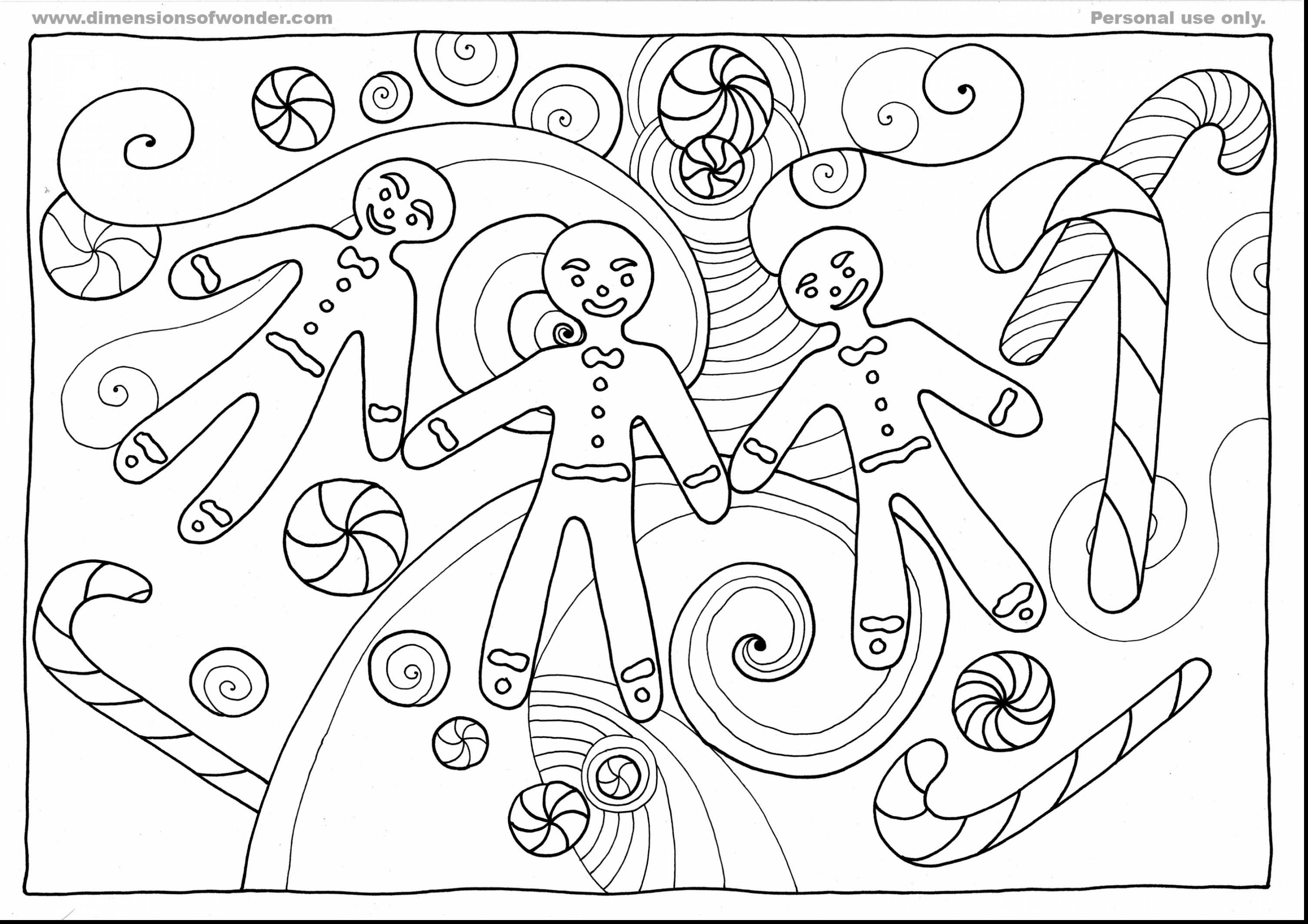 3300x2332 Terrific Printable Gingerbread Man Coloring Pages With Gingerbread