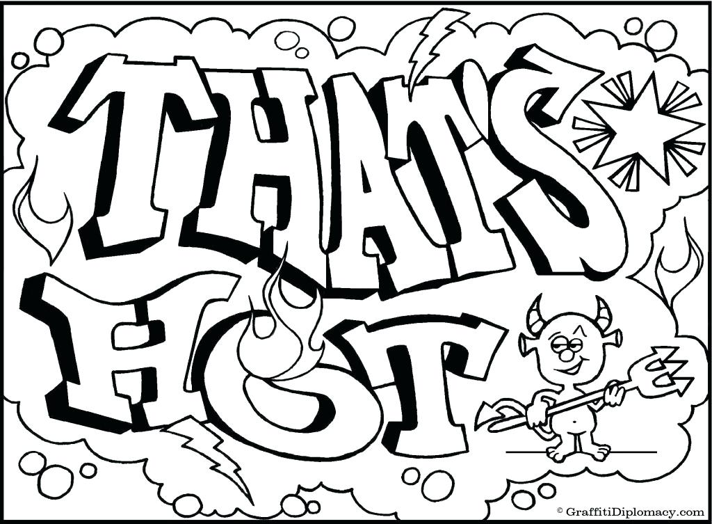 1024x753 Free Graffiti Coloring Pages To Print Get This Online Graffiti