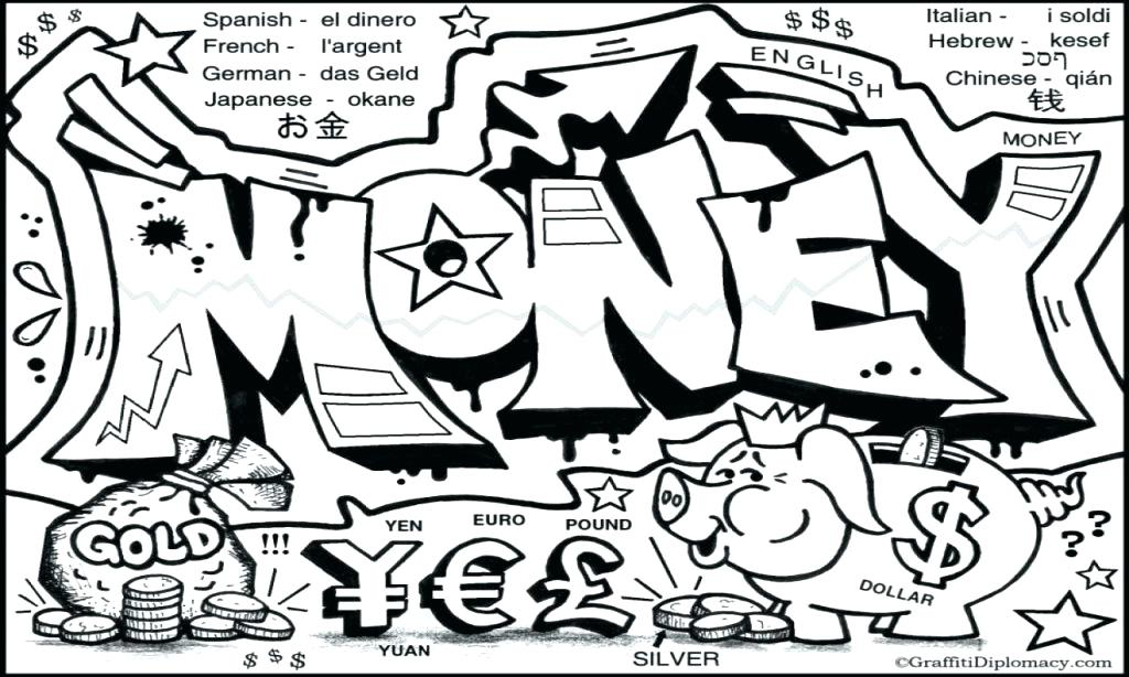 1024x614 Graffiti Coloring Pages Graffiti Words Coloring Pages