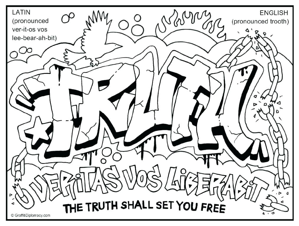 1014x768 Color Pages Free Graffiti Color Pages Free Printable Graffiti