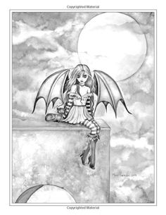 236x305 Free Grayscale Coloring Page Galaxy Girl