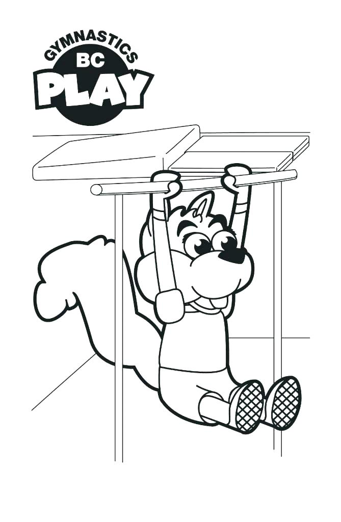 669x1024 Printable Gymnastics Coloring Pages Awesome Gymnastics Coloring