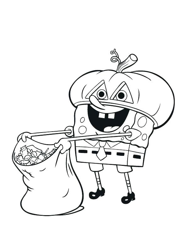 Printable Halloween Coloring Pages For Toddlers At Getdrawings Com