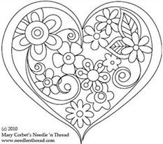photo regarding Printable Heart Coloring Pages named Printable Centre Coloring Web pages at  Free of charge for