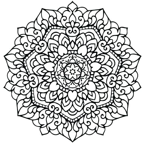 Printable Kaleidoscope Coloring Pages For Adults at ...