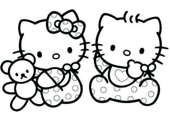 Printable Kitty Coloring Pages