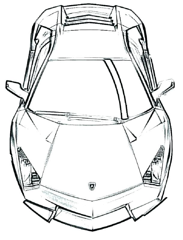 610x799 Lamborghini Coloring Page Pages To Print Medium Size Of Endearing
