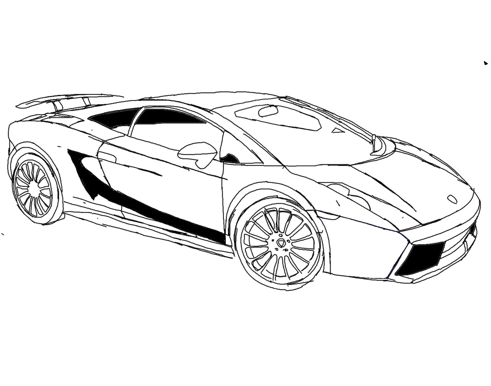 976x768 Lamborghini Coloring Pages To Print Az Coloring Pages Coloring