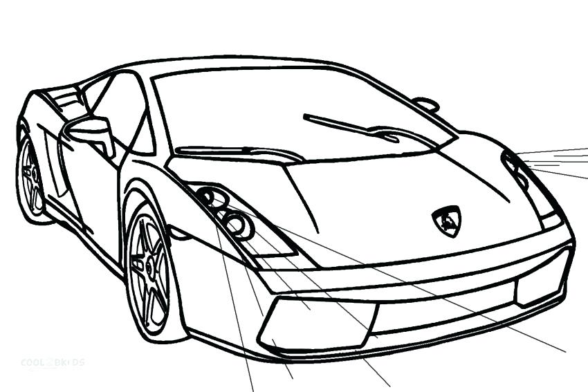 850x567 Lamborghini Coloring Pages To Print Classic Coloring Pictures Free