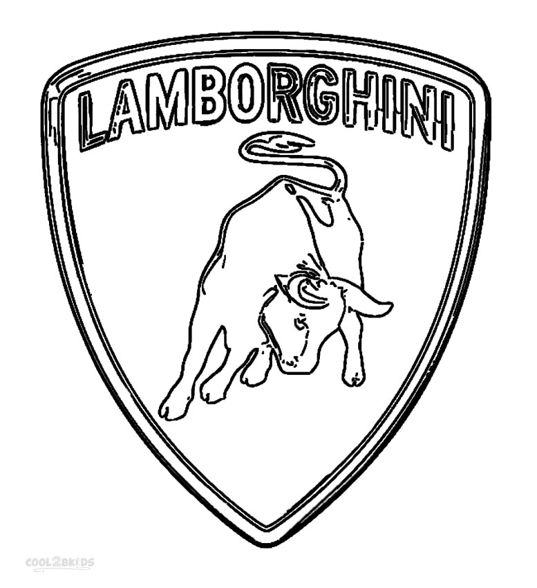 777x850 Printable Lamborghini Coloring Pages For Kids