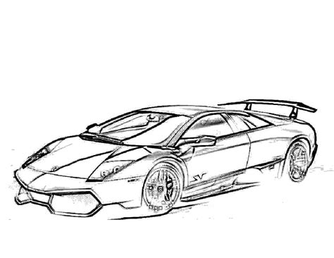 474x366 Coloring Pages Lamborghini