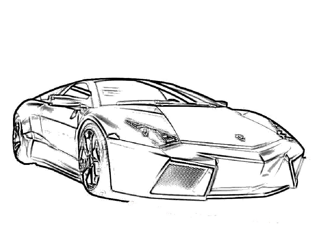 1056x816 Free Printable Lamborghini Coloring Pages For Kids