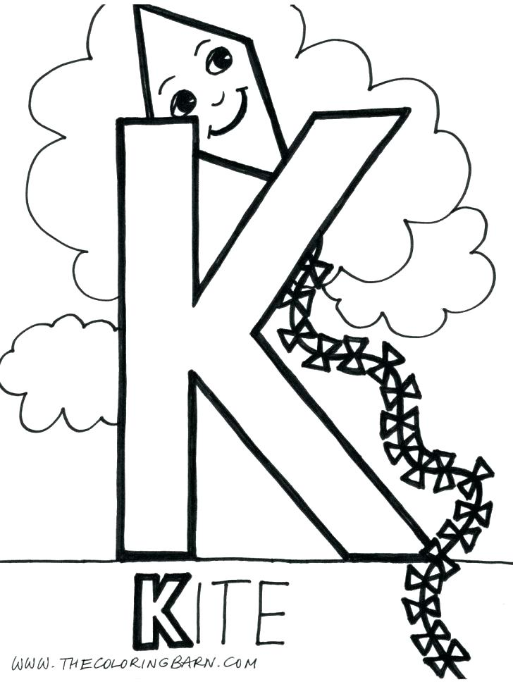 728x968 Letter A Coloring Pages For Toddlers Letter K Coloring Sheets