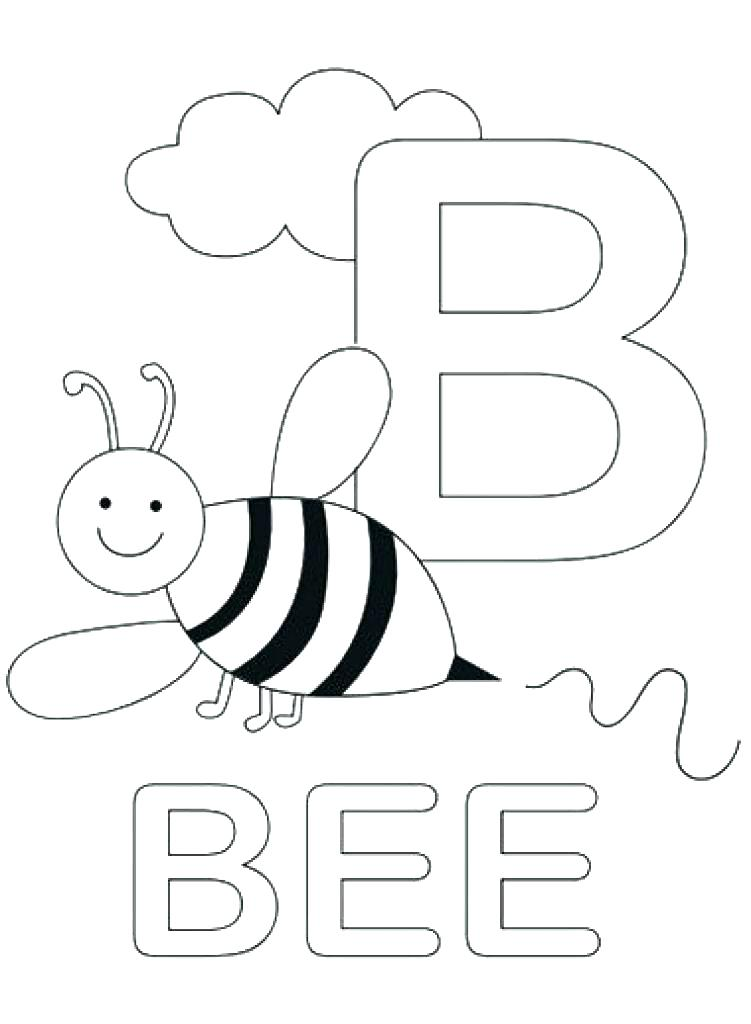 751x1024 Letter B Coloring Page Cool Letter B Coloring Pages Print Sheets