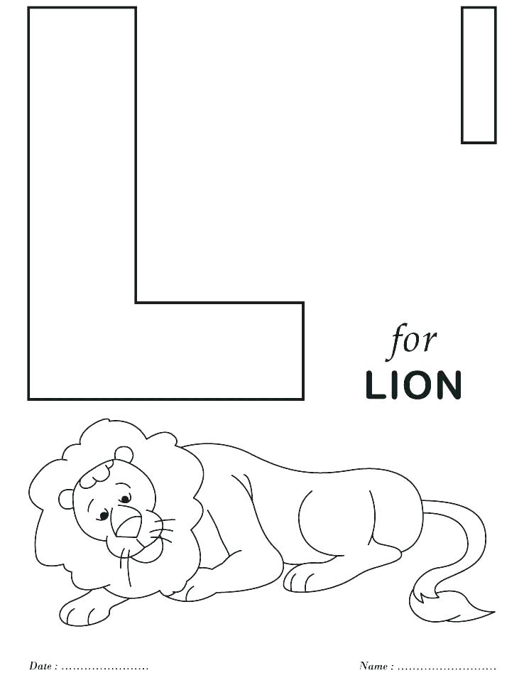 738x954 Alphabet Letter Coloring Pages
