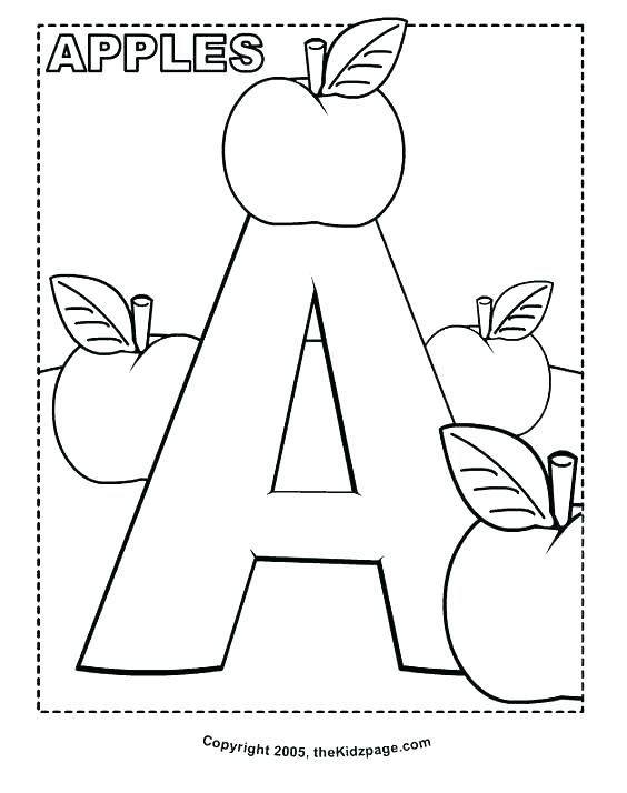 564x714 Alphabet Book Coloring Sheets Printable Alphabet Coloring Sheets