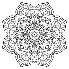 Printable Mandala Coloring Pages For Adults At Getdrawings