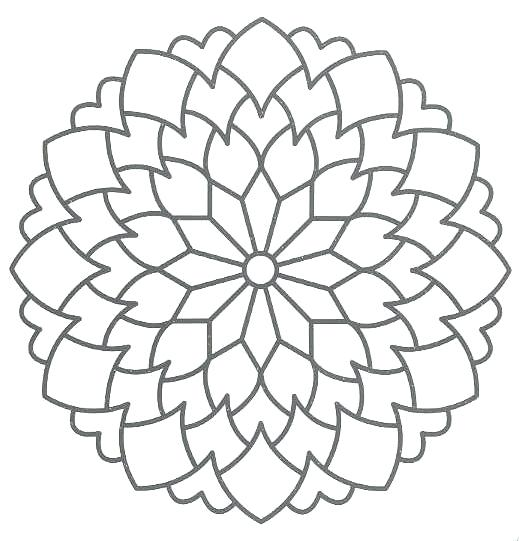 519x541 Free Printable Mandalas Kids Free Mandalas Coloring Pages