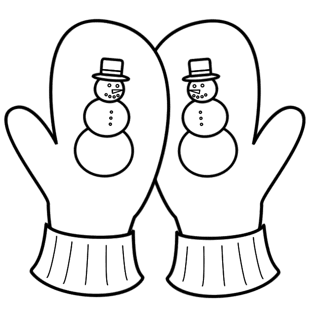 photo about Printable Mittens called Printable Mitten Coloring Website page at  Absolutely free for
