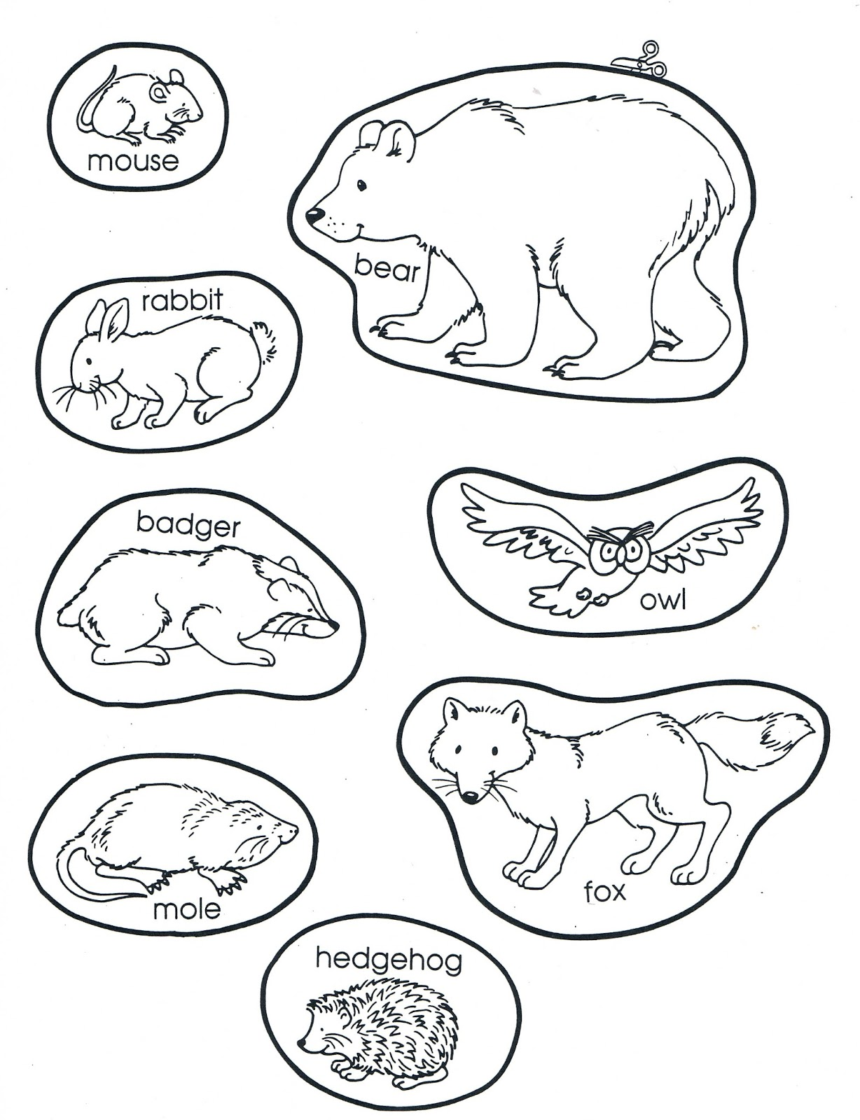 Printable Mitten Coloring Page at GetDrawings | Free download