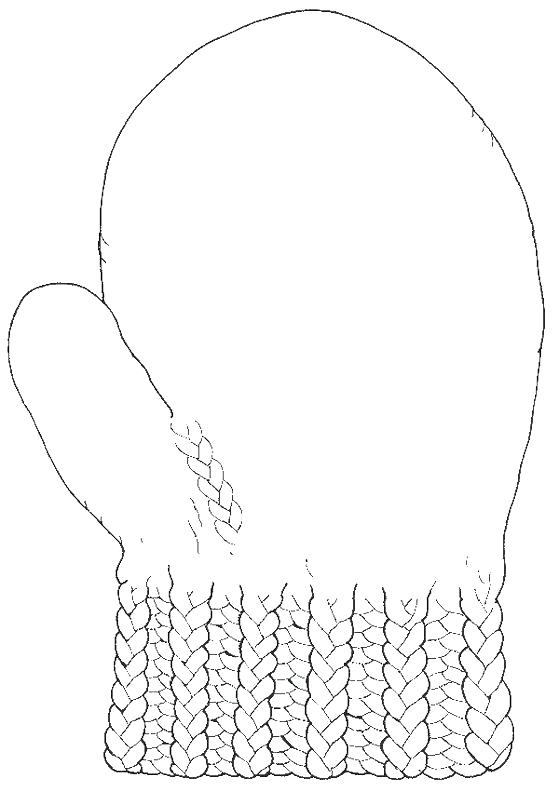 photo regarding Printable Mittens titled Printable Mitten Coloring Web page at  Free of charge for