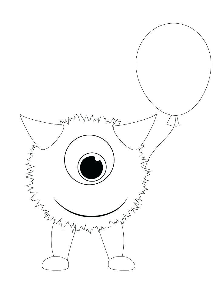 photograph regarding Printable Monster Coloring Pages named Printable Monster Coloring Web pages at  No cost