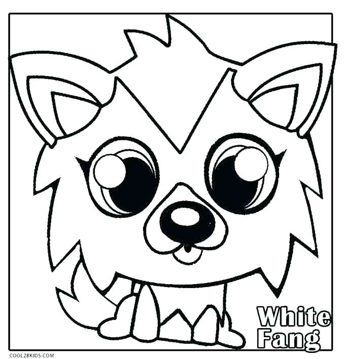 680x709 Halloween Monster Coloring Pages Free Monster Coloring Pages
