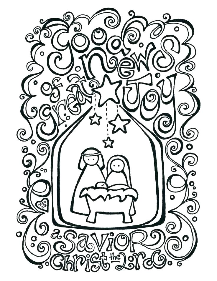 736x955 Free Printable Nativity Scene Coloring Pages Free Printable