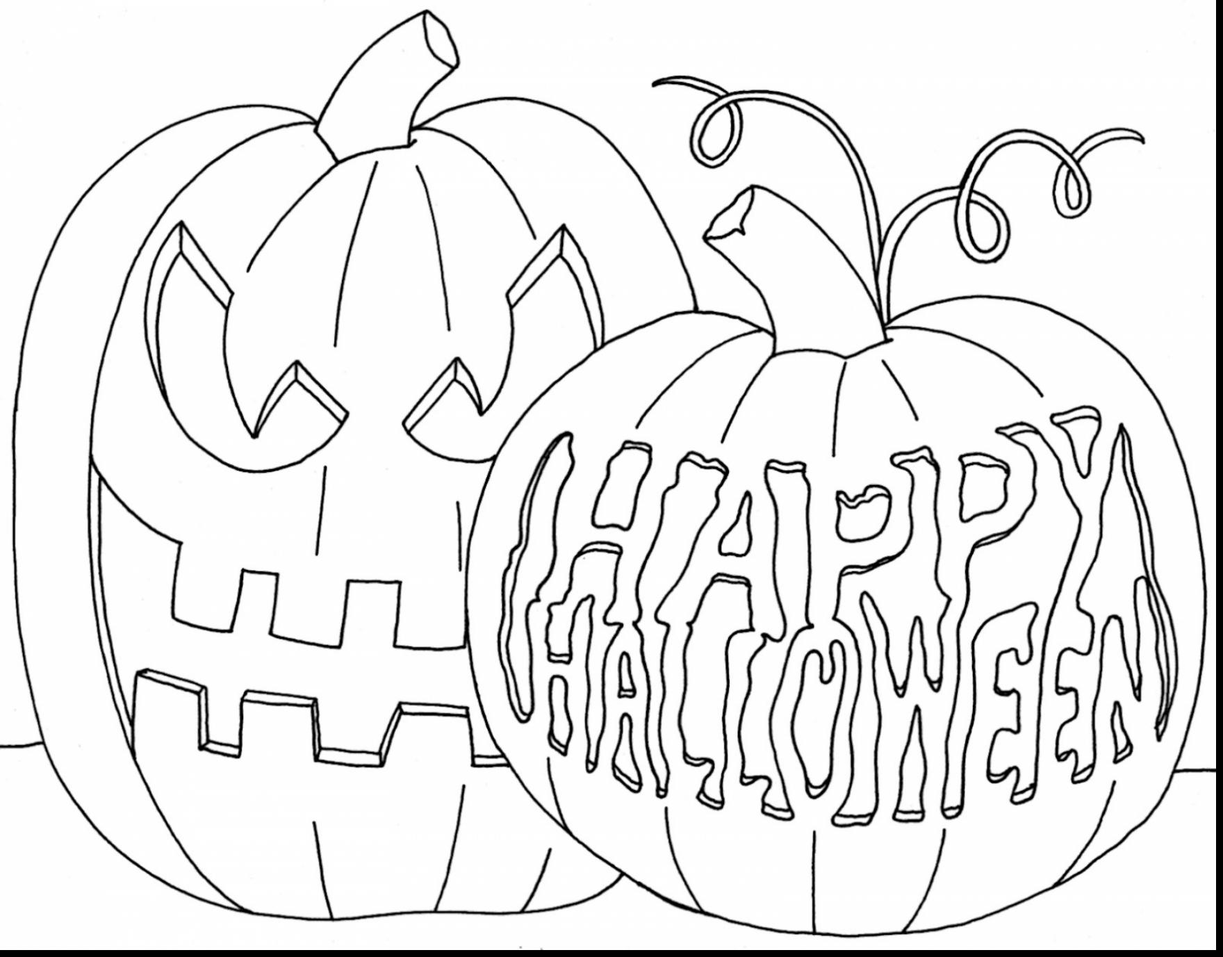 1760x1377 October Coloring Pages Outstanding Halloween Pumpkin Coloring