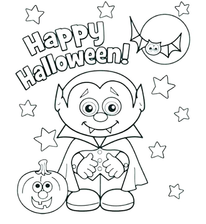 664x720 October Coloring Page
