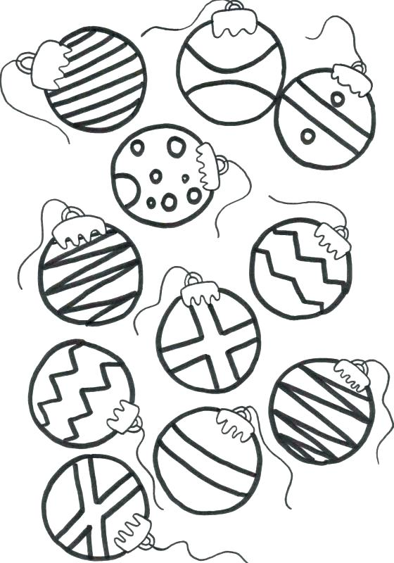 560x800 Christmas Ornaments Coloring Pages Ornament Coloring Pages Print